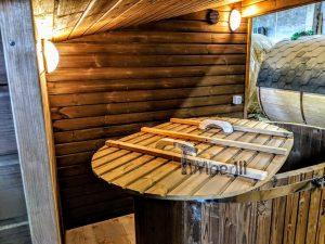 Moderne utendørs hage badstue (11)