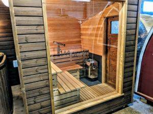Moderne utendørs hage badstue (15)