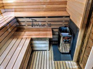 Moderne utendørs hage badstue (20)