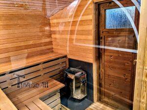 Moderne utendørs hage badstue (21)