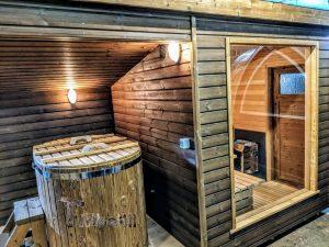 Moderne utendørs hage badstue (22)