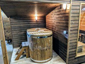 Moderne utendørs hage badstue (23)