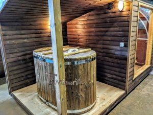 Moderne utendørs hage badstue (5)
