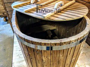 Moderne utendørs hage badstue (6)