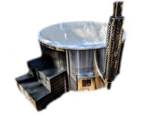 Kjøpe badestamp i glassfiber med Smart pelletsovn sverige