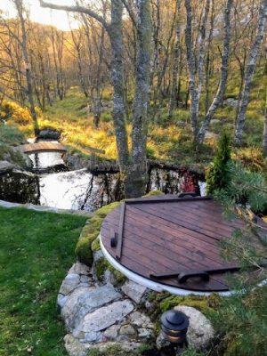 Elektrisk utendørs badestamp Wellness konisk, Ole, Sandnes, Norway (1)