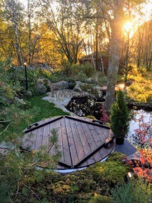 Elektrisk utendørs badestamp Wellness konisk, Ole, Sandnes, Norway (2)