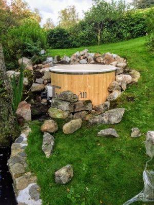 Elektrisk utendørs badestamp Wellness konisk, Ole, Sandnes, Norway (7)