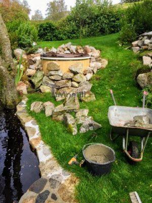 Elektrisk utendørs badestamp Wellness konisk, Ole, Sandnes, Norway (8)