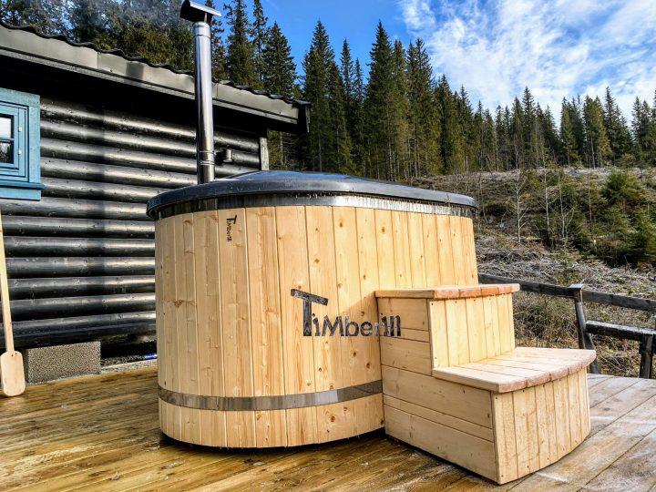 Japansk badestamp i glassfiber 2 personer, Ingeborg, Blommenholm, Norway (2)