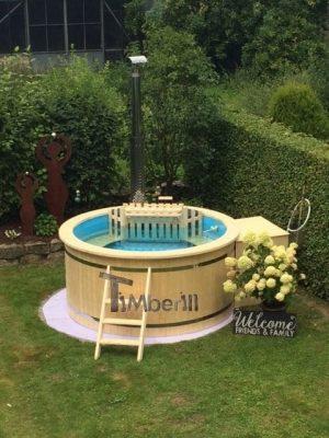 Utendørs hage jacuzzi badestamp spesialtilbud (1)