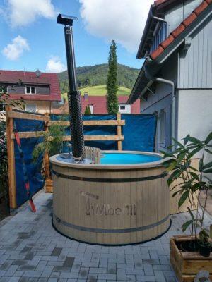 Utendørs hage jacuzzi badestamp spesialtilbud (10)