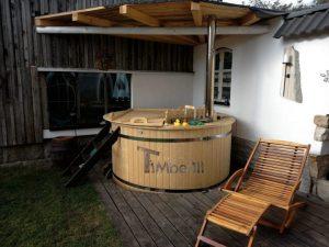 Utendørs hage jacuzzi badestamp spesialtilbud (12)