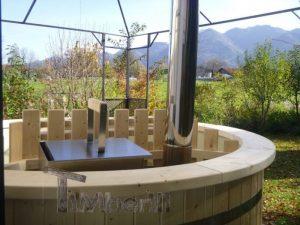 Utendørs hage jacuzzi badestamp spesialtilbud (15)