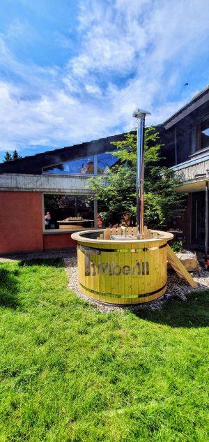 Utendørs hage jacuzzi badestamp spesialtilbud (2)
