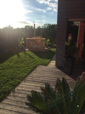 Utendørs hage jacuzzi badestamp spesialtilbud (25)