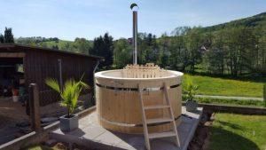Utendørs hage jacuzzi badestamp spesialtilbud (26)