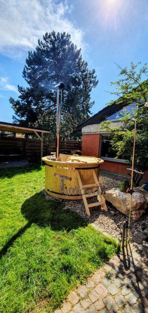 Utendørs hage jacuzzi badestamp spesialtilbud (4)