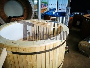 Utendørs hage jacuzzi badestamp spesialtilbud (5)