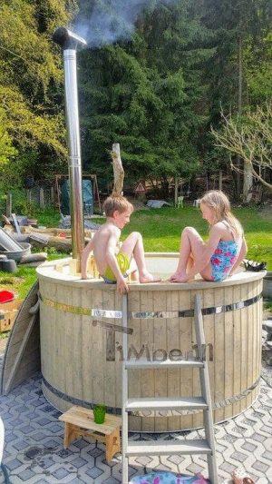Utendørs hage jacuzzi badestamp spesialtilbud (7)