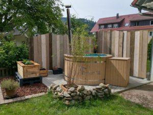 Utendørs hage jacuzzi badestamp spesialtilbud (9)
