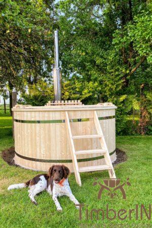 Utendørs hage jacuzzi badestamp spesialtilbud (11)
