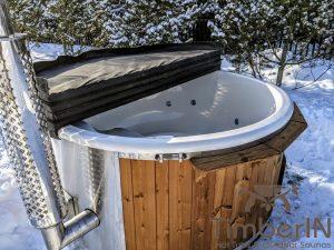 Vedfyring badestamp med bobler (10)