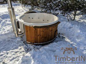 Vedfyring badestamp med bobler (20)
