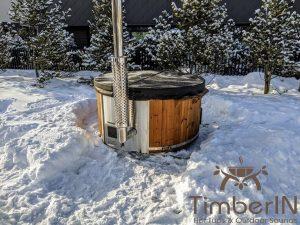 Vedfyring badestamp med bobler (25)