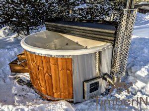 Vedfyring badestamp med bobler (5)