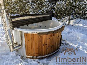 Vedfyring badestamp med bobler (9)