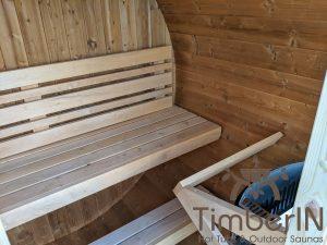 Lille utendørs fatbadstuen for 2 4 personer (24)