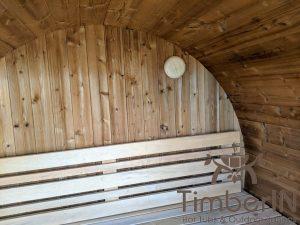 Lille utendørs fatbadstuen for 2 4 personer (25)