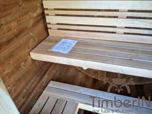 Lille utendørs fatbadstuen for 2 4 personer (26)