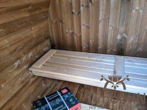 Lille utendørs fatbadstuen for 2 4 personer (7)
