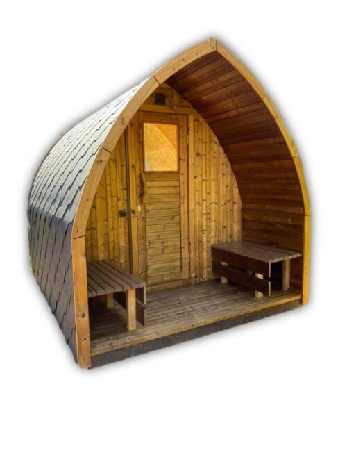 Utendørs sauna Pod