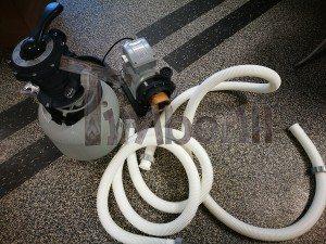 Sandfiltreringssystemet